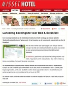 Crisis versterkt groei ´Bed and Breakfast´